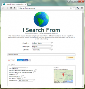 isearchfrom
